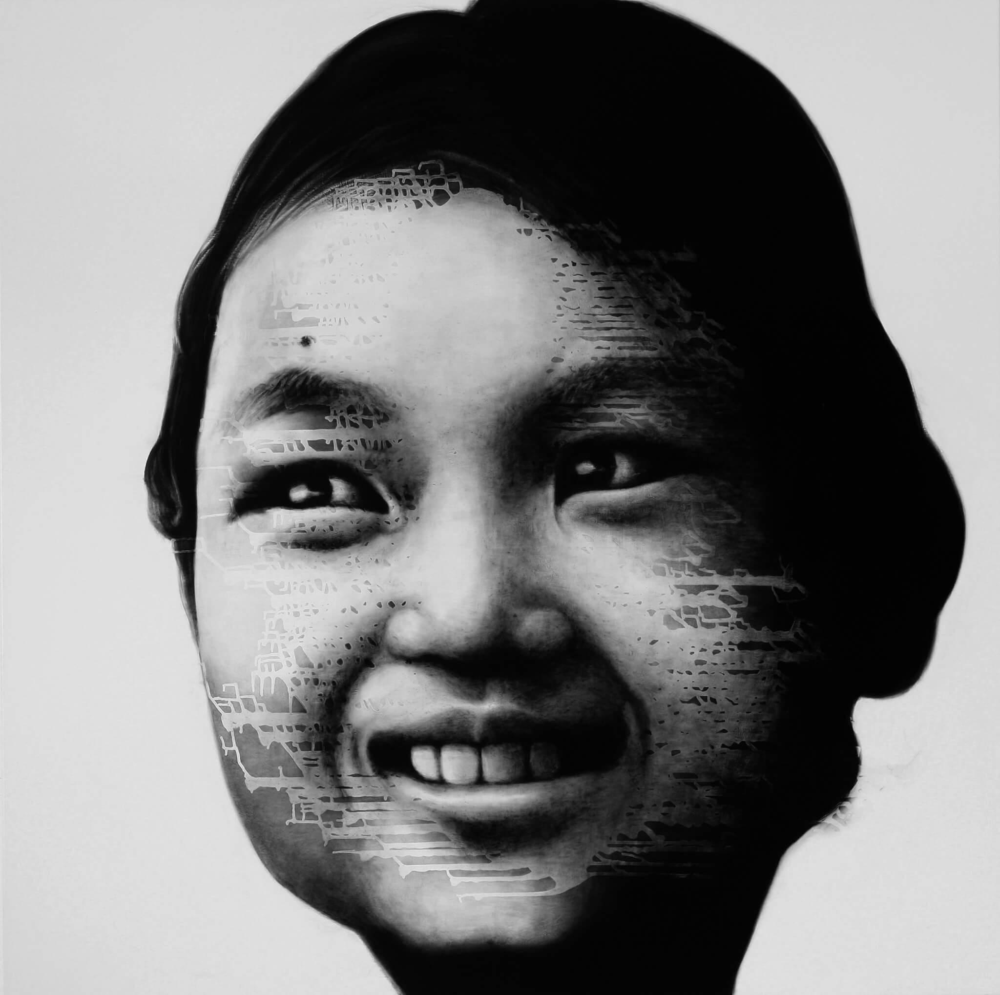 Tibetan girl, 2014